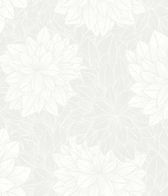 Шведские обоиОбои Foliage 7186 - Eco Wallpaper / White & Light